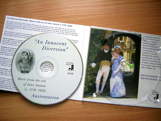 An Innocent Diversion - CD